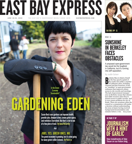 East Bay Express Cover
