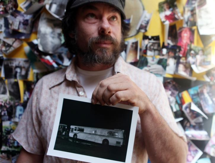 Shot for East Bay Express: John Benson