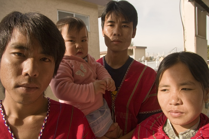 A Burmese Family